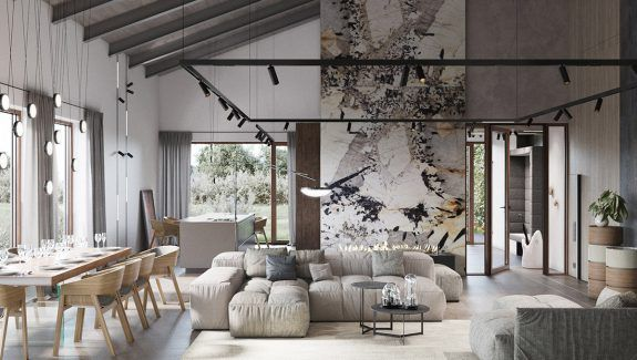 Modern Rustic Interiors Contemporary Country House Charm