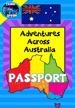 Free: AUSTRALIA GEOGRAPHY: Australian States and Territories PASSPORT. Provide your class with a record of their learning. Students collect stamps for each Australian state and territory they learn about.Students love completing their passport and it is a great record for them to keep!!Design to tie in with the ADVENTURES ACROSS AUSTRALIA resources, but can be used with any other learning too.