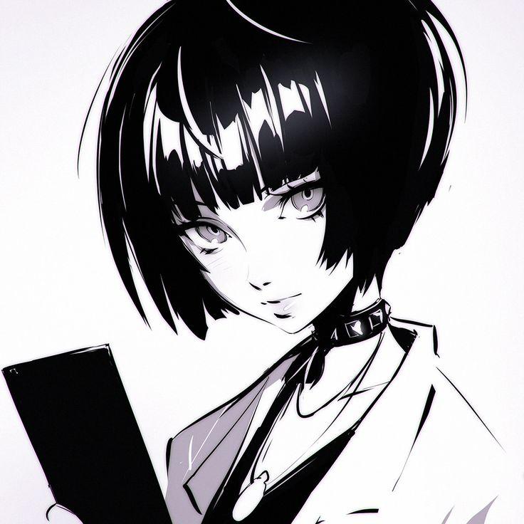 Persona5's Takemi Tae sketch https://www.patreon.com/posts/takemi-tae-7081578
