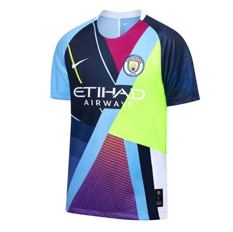 7fc164cf3 Nike x Manchester City 6th Anniversary Jersey Personalized Name