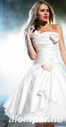 Trendi rövid menyasszonyi ruhák