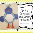 This poem and craft is a great way to incorporate Spring and poetry in your classroom. Students write a cinquain poem and make a bird to display th...