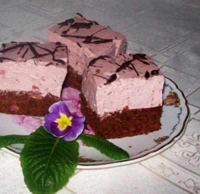 Receptek, és hasznos cikkek oldala: Csokoládés meggyes joghurtos kocka! Ízleni is fog…