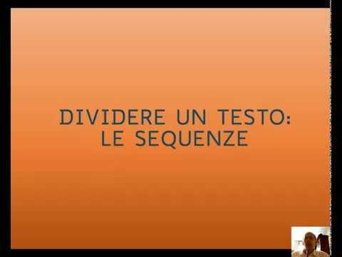 La divisione in sequenze - YouTube