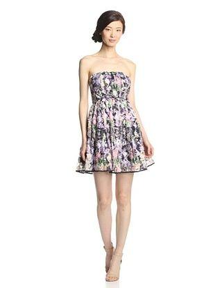 45% OFF Minuet Women's Petal Dress (Black/Purple)