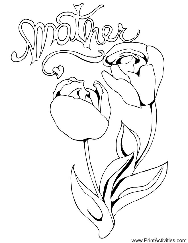 Coloring Sheet Of A Flower : 201 best flower coloring pages images on pinterest