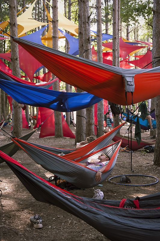 ENO hammock Party!   I love my ENO! I'd love to get people out to do this!