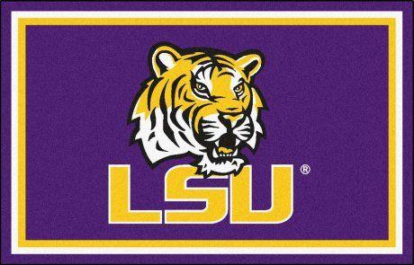 Louisiana State (LSU) Tigers 5' x 8' Area Rug