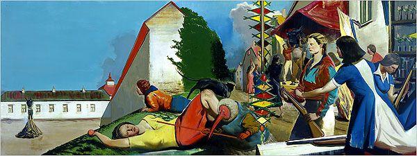 Neo Rauch at the Met: Para - Metropolitan Museum of Art - Art - Review - New York Times