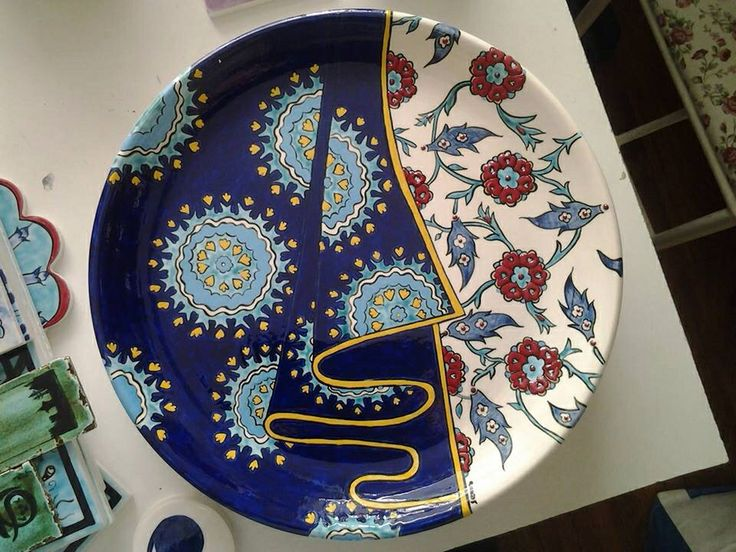 Turkish Tile Art Plate