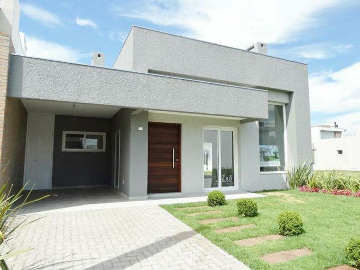 Casas de condominio terreas pesquisa google ideias para a casa pinterest Catalogo de fachadas de casas