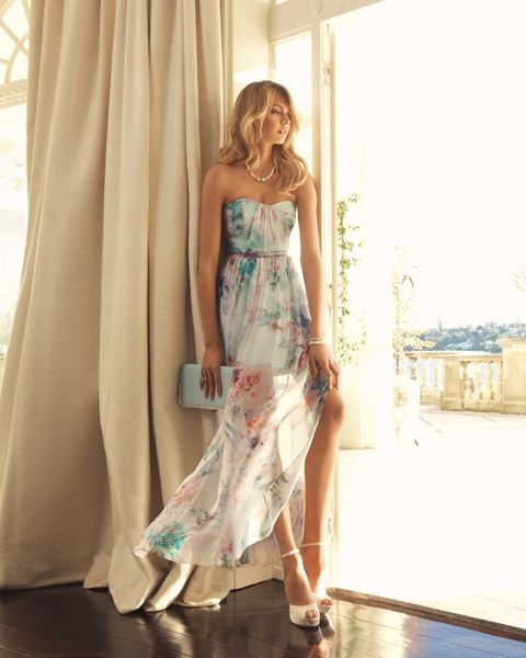 Flowy feminine elegant Dress   Perfect for the races! Spring time  FOREVER NEW Moonlight Sonata collection 2013