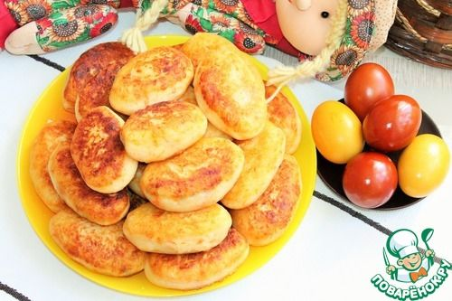 Картофельные зразы с грибами - кулинарный рецепт