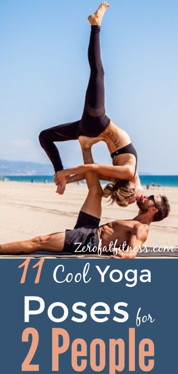 11 Easy Yoga Poses for Two People: Friends, Partners, and ...