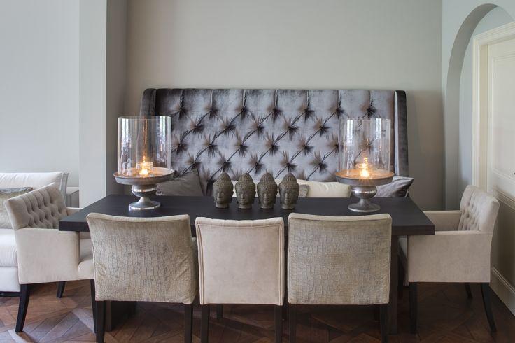 Interiors DMF Le Bistro dining