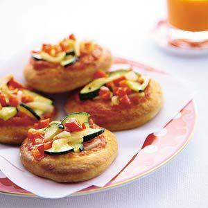 Recept - Minipizza's met groenten - Allerhande
