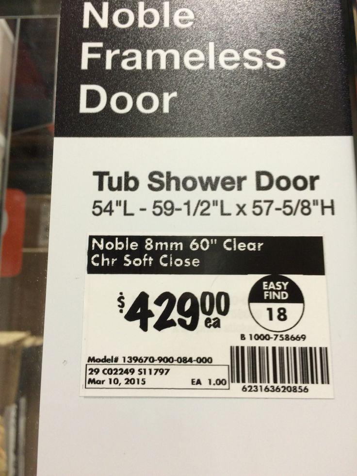 Price of that door brushed nickel