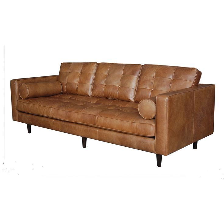 Four Hands Home Virtual Warehouse Modern Leather Sofa