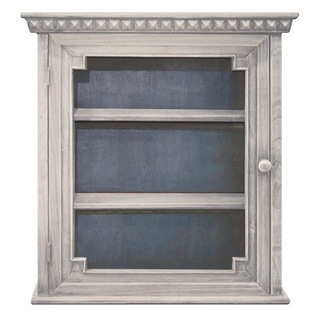 This Architectual Wall Cabinet Is An Attractive Way To Add