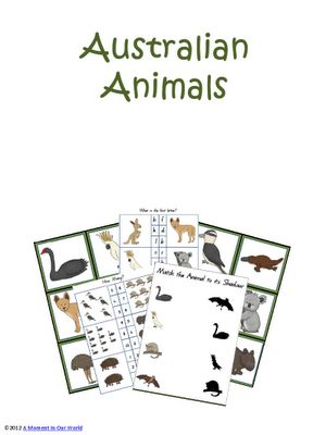 Free 60 page printable packet on Australian animals. While these are geared to a child younger than those who typically do Sonlight's Core F, they'd be excellent to give to a younger sibling who may be tagging along.