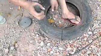 artesanato com pneus preços - YouTube