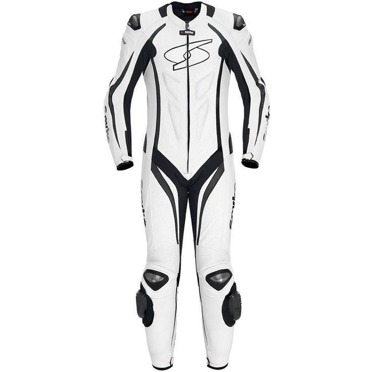 Spyke Blaster III Leather Motorcycle Race Suit for Men