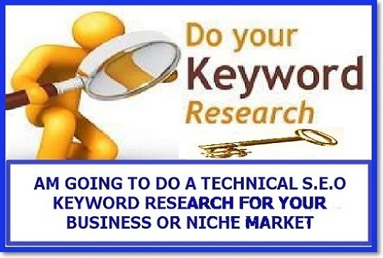 help you do technical seo KEYWORD research by seoexpertonline
