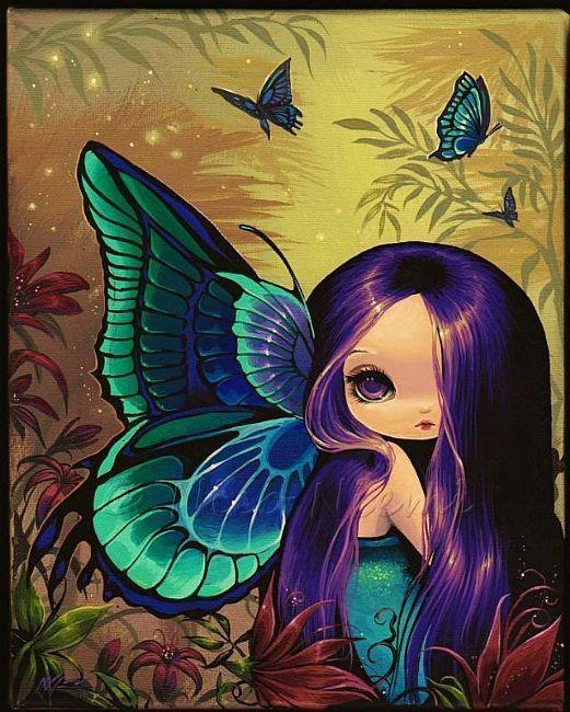 Violet Eyed Fairy