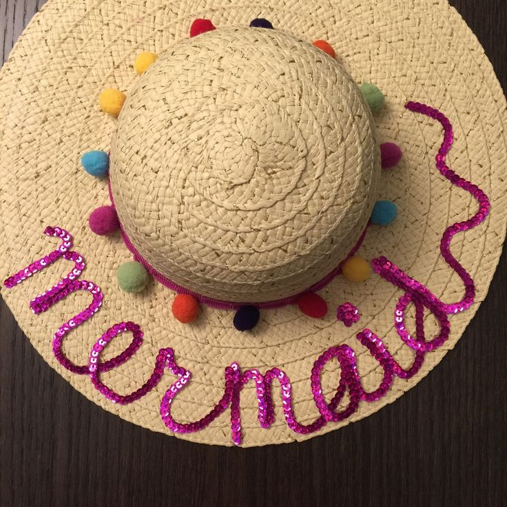 Little Girl Floppy Hat || Beach hats for little girls