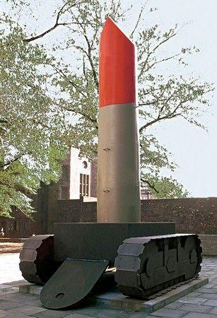 Claes Oldenburg - Lipstick (Ascending) on Caterpillar Tracks (1969)