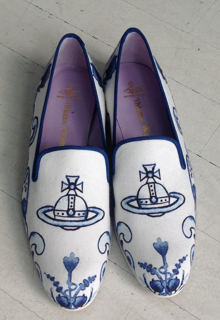 porcelain shoes VIVIENNE WESTWOOD