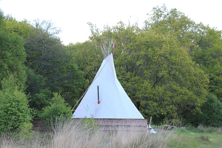 Tipi at Cledan Valley Glamping Wales