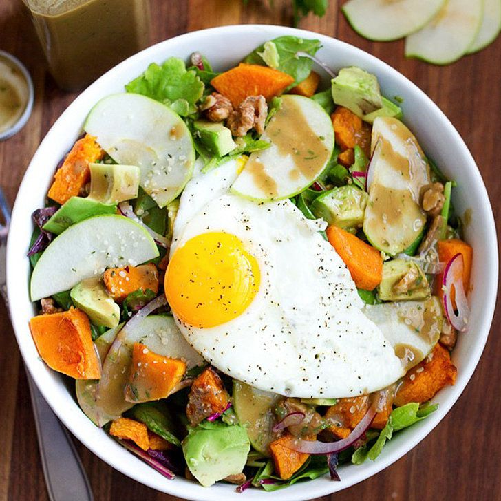 Salad For Breakfast? Yes, and It's Delish: The following post was originally featured on Eating Bird Food and written by Brittany Mullins, who is part of POPSUGAR Select Fitness.