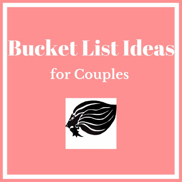 Bucket List Ideas for Couples - cover