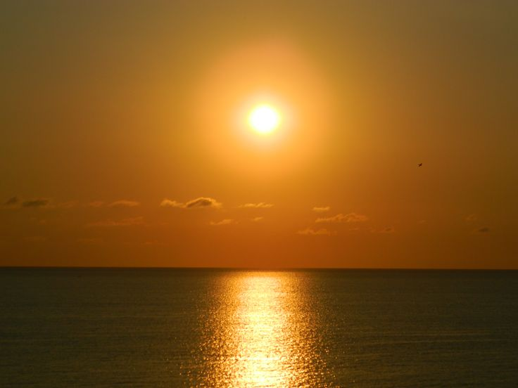 tramonto in Calabria (Italy)