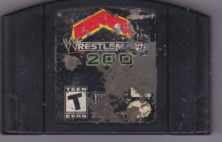 WWF WRESTLEMANIA 2000 NINTENDO 64 VIDEO GAME N64 Rated Teen #Nintendo