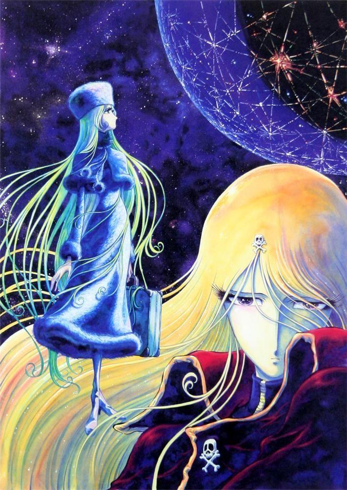 Galaxy Express 999 - Maetel by Leiji Matsumoto | 銀河鉄道999: メーテル - 松本零士 *