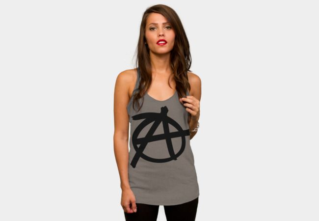 Anarchy symbol Tank Top - Design By Humans #Anarchy #symbol #Anarchysymbol #Anarchist #sonsofanarchy