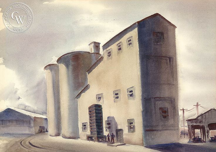 Storage Towers, San Joaquin Valley, 1936