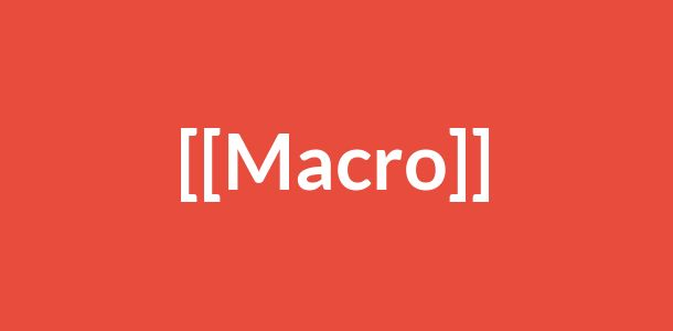 Macro-urile in email marketing