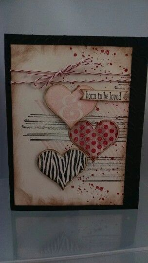 Stampin'Up Groovy love and gorgeous grunge. Www.girlshavingfun.stampinup.net