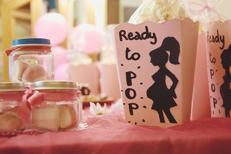 Ready to pop! Baby shower ideas
