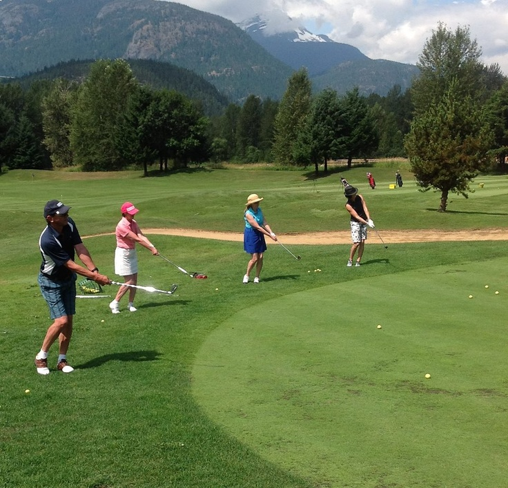 GolfTEC North Vancouver clients participating in Short Game School at fabulous Big Sky Golf and Country Club. More Schools will be scheduled for 2013.