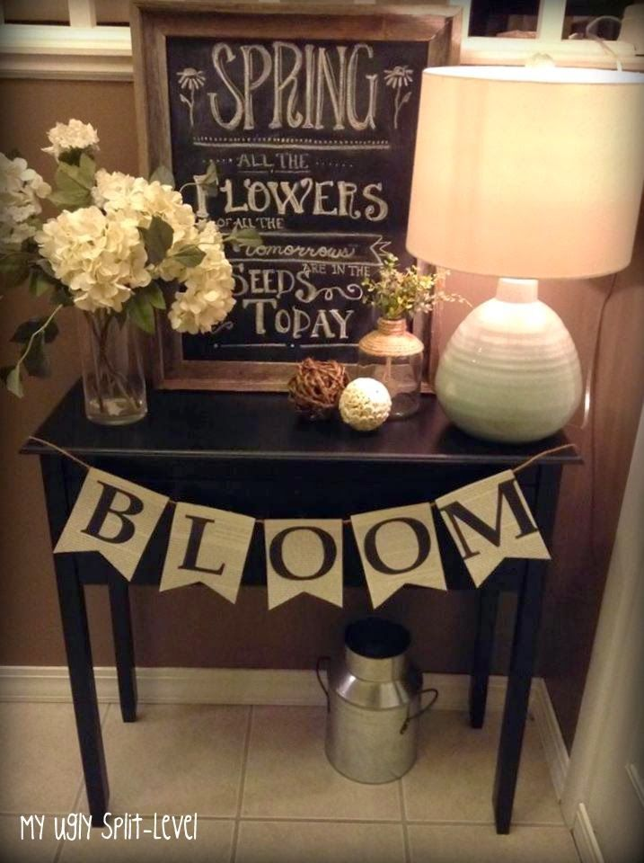 My Ugly Split Level Entryway: Typography & Lettering..
