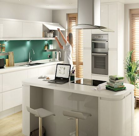 B&Q Cooke & Lewis Appleby White. Kitchen Kitchen-compare.com - Home - Independent Kitchen Price Comparisons