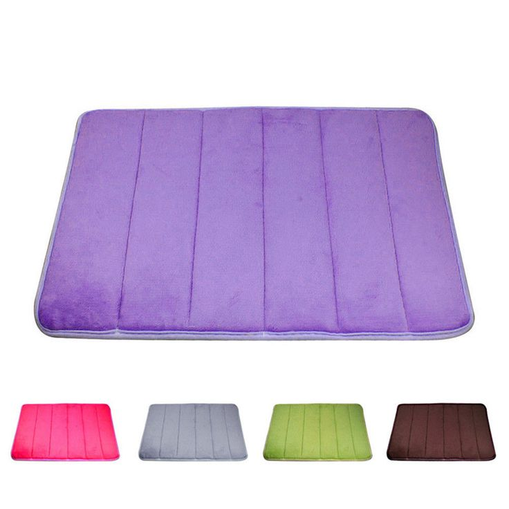 "Bathroom Room Carpets Rugs Memory Foam Bath Mat Carpet Floor Mats 24*15.7*0.4"" from.."