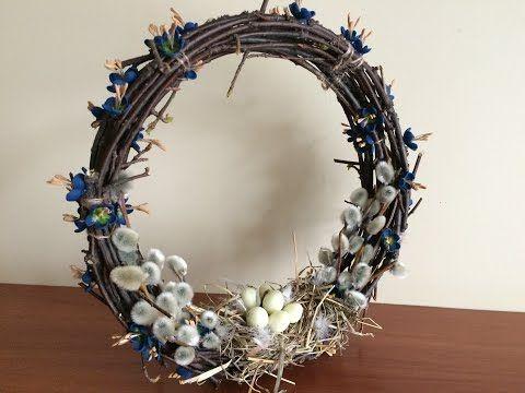 Пасхальный венок. (Easter wreath). - YouTube