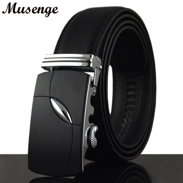 Belt Mens Belts Luxury Brand Designe Cinturones Hombre Ceinture Homme Jeans Kemerler Cow Real Leather Belt Black Silver Buckle