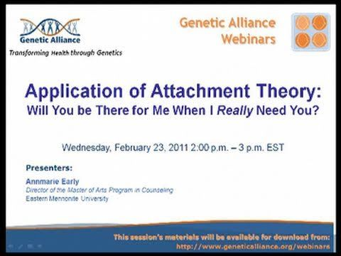 best attachment theory is not boring images  this program is the first of two webinars focusing on attachment theory and practice