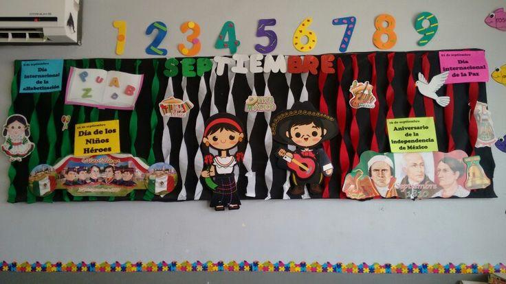 Septiembre, periodico mural